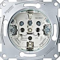 Механизм розетки с з/к 16А с винтовыми зажимами, Merten