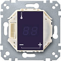Механизм терморегулятора пола с сенсорным дисплеем, Merten