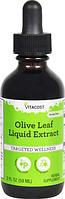 Жидкий экстракт листьев оливы, Vitacost, Olive Leaf Liquid Extract, 59 мл