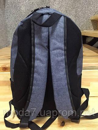 Спортивный рюкзак серый, фото 2