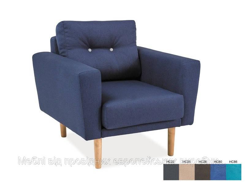 Кресло Cameron 1 signal (серый)