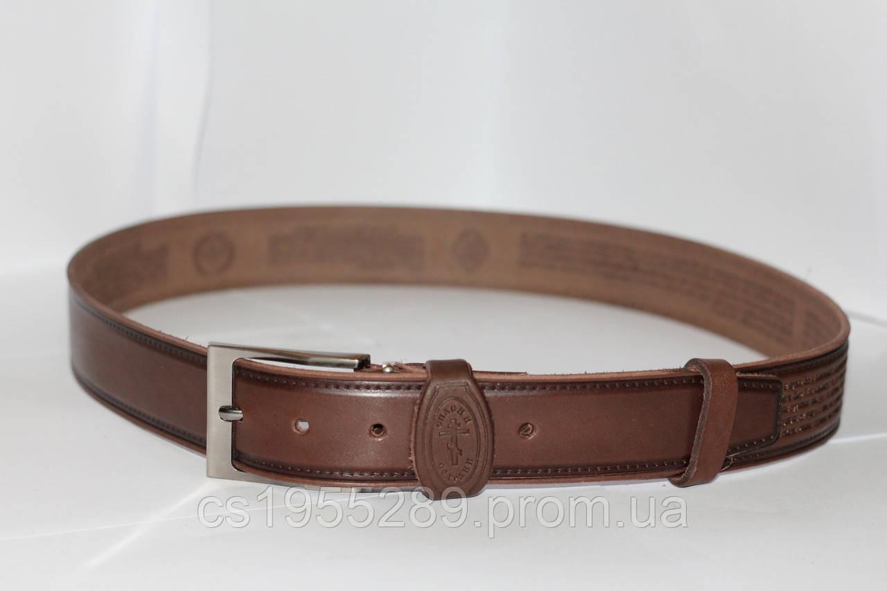 347e32d94bc6 Ремень кожаный