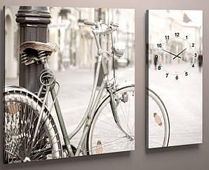 Годинник настінний велосипед 100х60