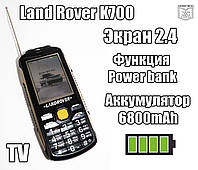 Land Rover K700 6800mAh TV Защищенный противоударный и водонепроницаемый телефон, фото 1
