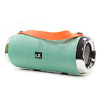 ✥Колонка LZ X93 Green корпус влагозащита музыкальная переносная портативная акустика
