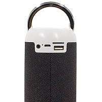 Беспроводная колонка LZ M118 Black портативный динамик слот карты памяти USB порт, фото 7