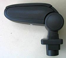 Skoda Fabia Mk1 подлокотник ASP черный виниловый