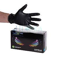 Перчатки нитриловые STANDARD (3,6 г), Черные (100шт/уп) Care365