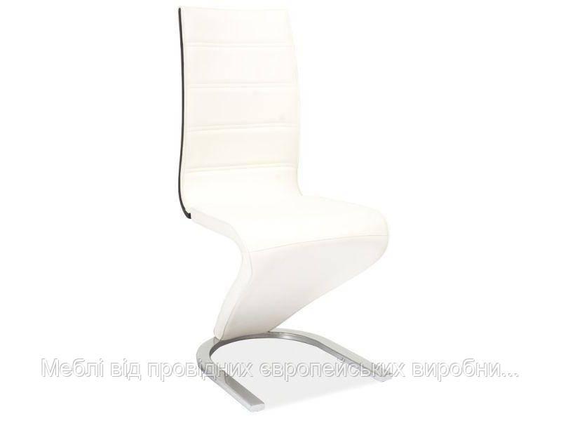 Купить кухонный стул H-134 signal (белый/черный)