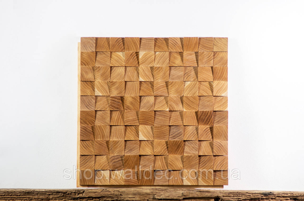 """Декоративная деревянная панель """"SNAKE"""""""