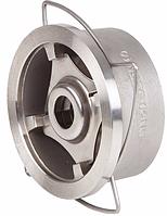 Дисковый межфланцевый обратный клапан Genebre (Испания) тип 2415 12 DN100 PN40 ДУ100 РУ40