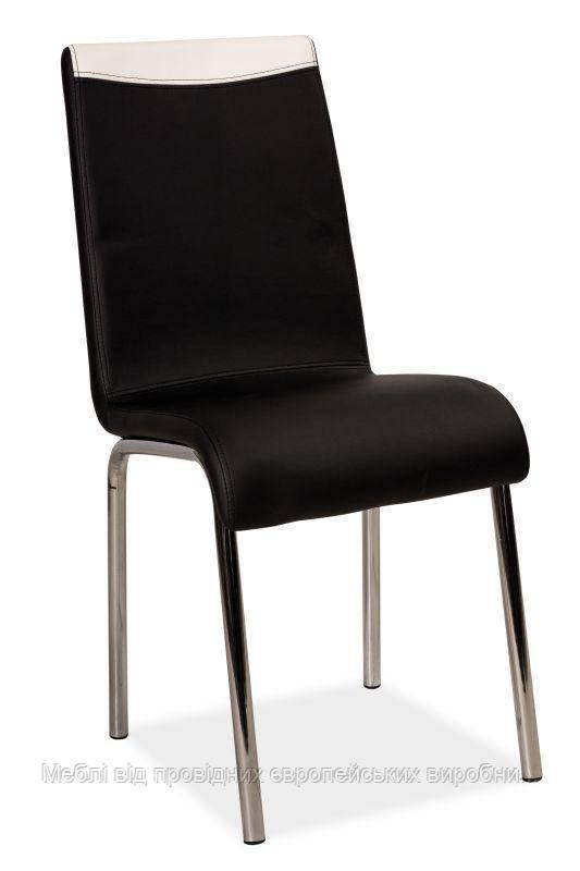 Купить кухонный стул H-161 signal (черно/белый)