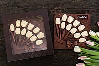 Шоколадные тюльпаны любимой жене, фото 1