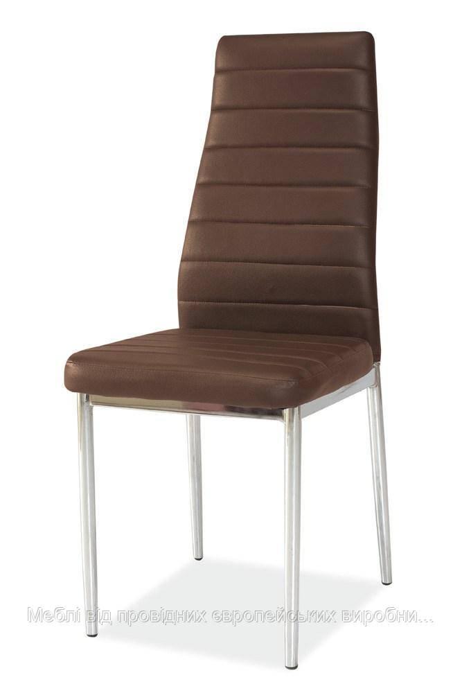 Купить кухонный стул H-261 chrom signal (коричневый)
