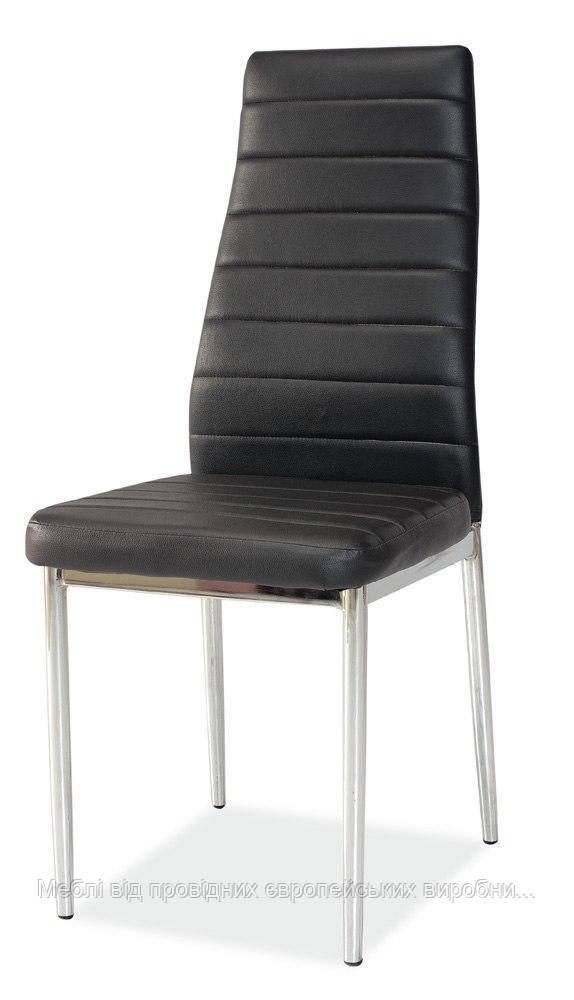 Купить кухонный стул H-261 chrom signal (черный)