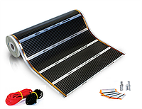 Пленочный теплый пол HEAT PLUS-220/ 1100Вт 5,0 м² (ширина 100 см)
