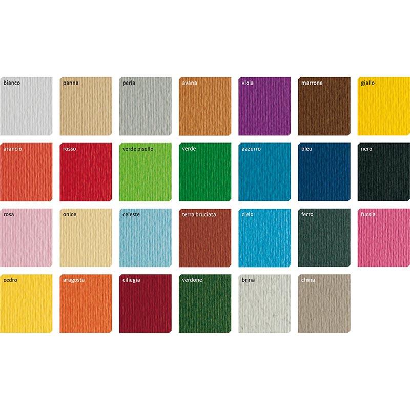 Картон дизайнерский Elle Erre А3 (297*420) 220 г/м2 №19 Terra Bruciata 2-текстуры коричневый