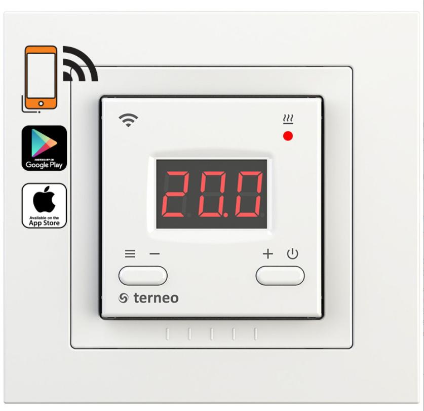 Терморегулятор Terneo ax unic Wi-Fi Білий