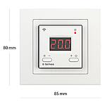 Терморегулятор Terneo ax unic Wi-Fi Білий, фото 2