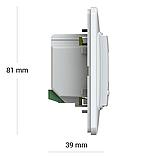 Терморегулятор Terneo ax unic Wi-Fi Білий, фото 3