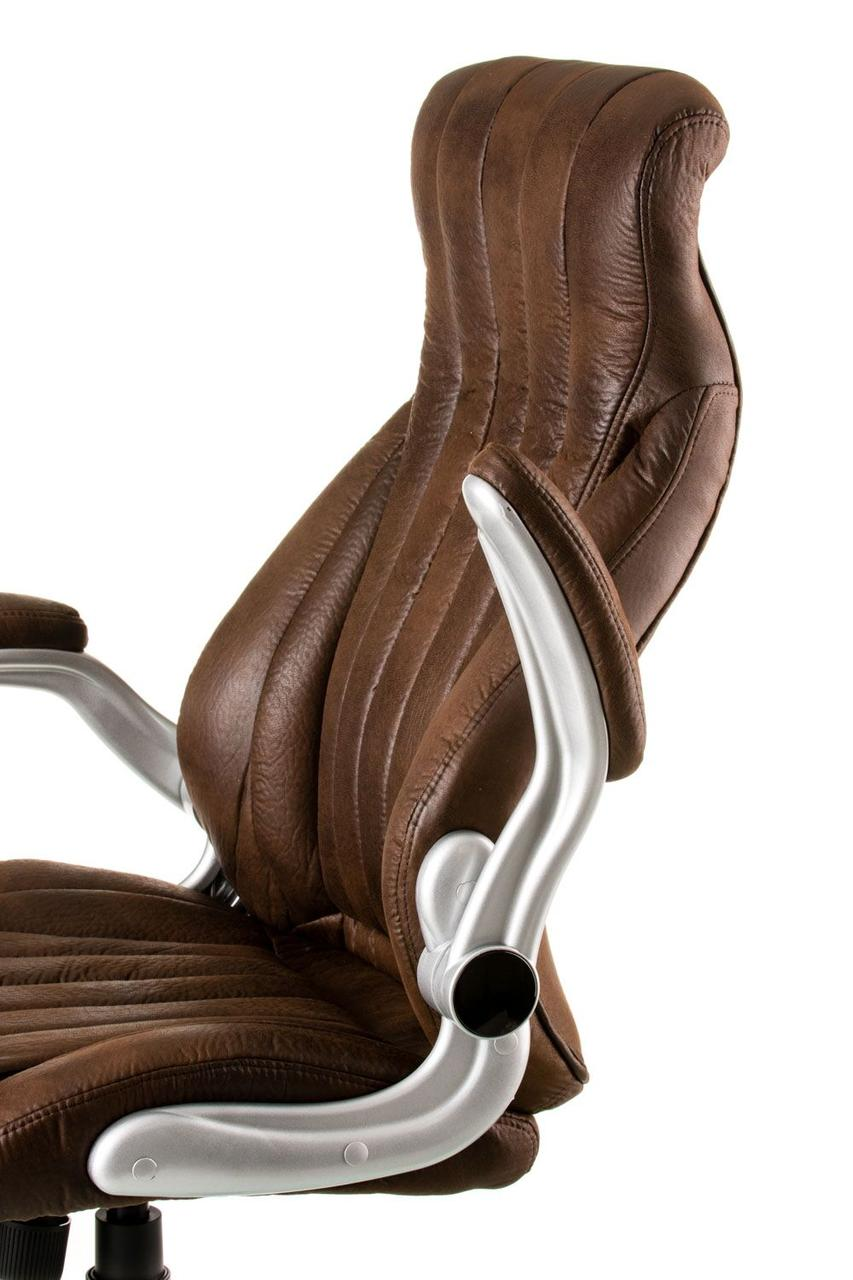 Кресло офисное Conor dark brown ТМ Spеcial4You , фото 4