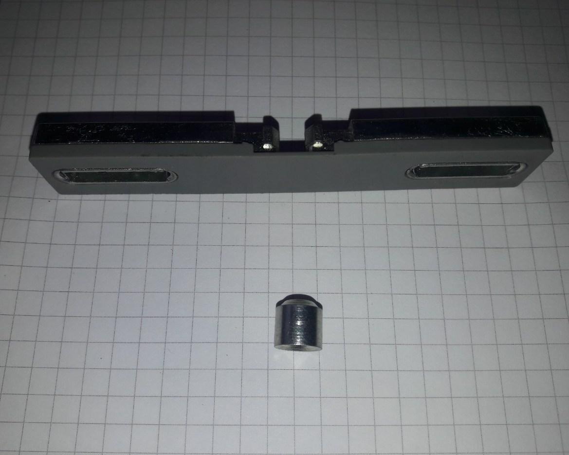 Балконні засувка Axor штульпова для металопластикової балконних дверей механічна
