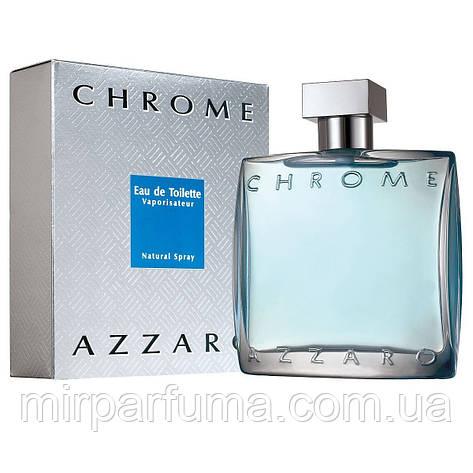Мужская туалетная вода Azzaro Chrome 100ml, фото 2