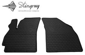 Передние резиновые коврики DAEWOO Nubira I 1997- (2 шт) Stingray 1005082