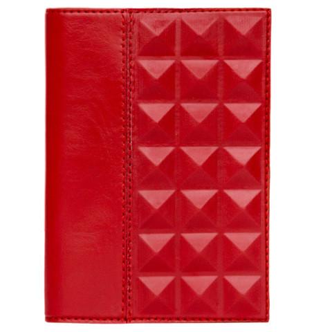 """Обложка для паспорта из серии """"Геометрия"""". Цвет красный"""