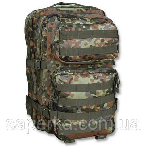 Штурмовой тактический  рюкзак Assault Pack Flecktarn 36 литров, Mil-Teс (Германия), фото 2