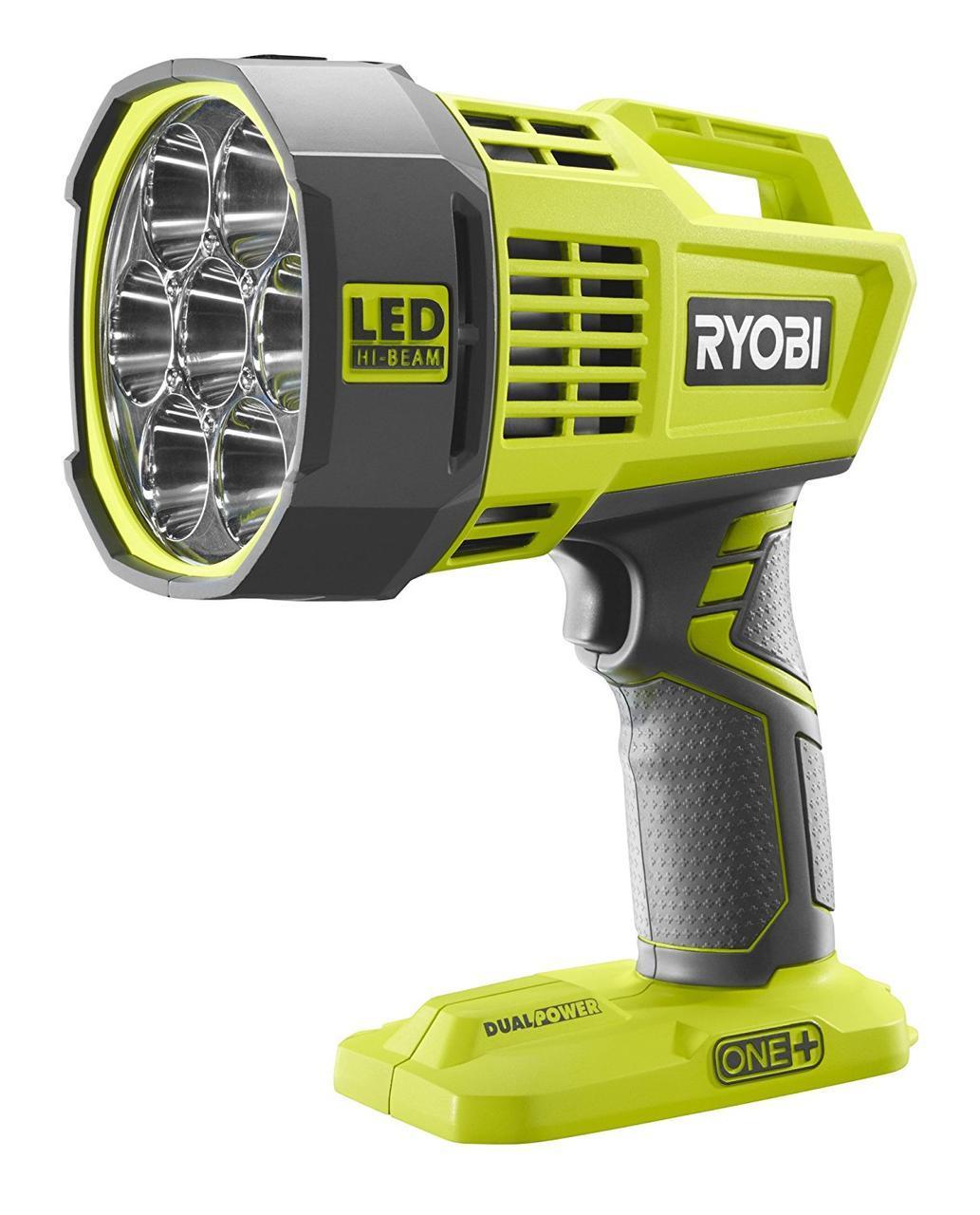 Светодиодный прожектор аккумуляторный Ryobi R18SPL-0 (каркас+зарядное от автомобиля)