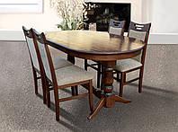 Раскладной деревянный стол Адмирал 2,4 м