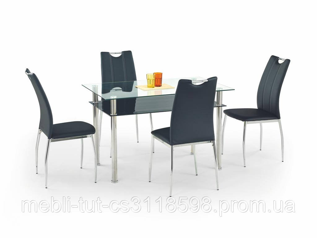 Стол стеклянный  LESTER 120 Halmar