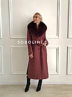 Пальто с мехом Melanie примерка в Харькове