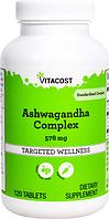 Ашваганда, Vitacost, Ashwagandha Complex, 578 мг, 120 таблеток