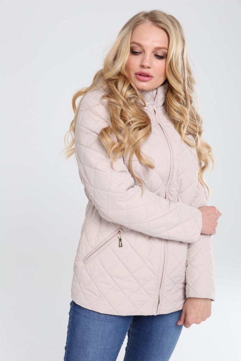 Женская демисезонная куртка больших размеров Мейси 62,64р.