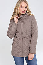 Женская демисезонная куртка больших размеров Мейси 62,64р., фото 2