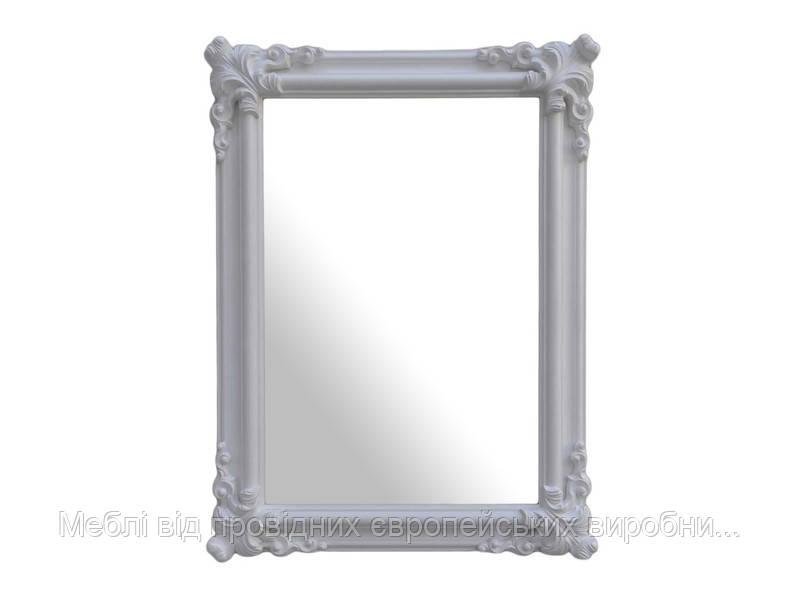 Зеркало Orient 90x120 signal (белый лак)