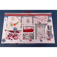 Комплект одежды для новорожденных Гусеница ( 0-4) 9 в1 в коробке