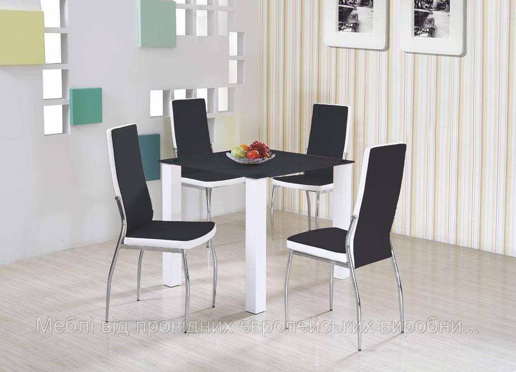 Стол MERLOT квадратный Halmar (черный)