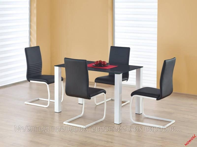 Стол MERLOT прямоугольный Halmar  (черный)