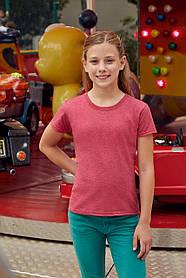 Классическая футболка для девочки 61-005-0