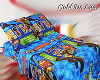 Полуторный подростковый постельный комплект , бязь, хлопок