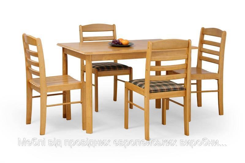 Стол деревянный CALVIN Halmar (ольха)