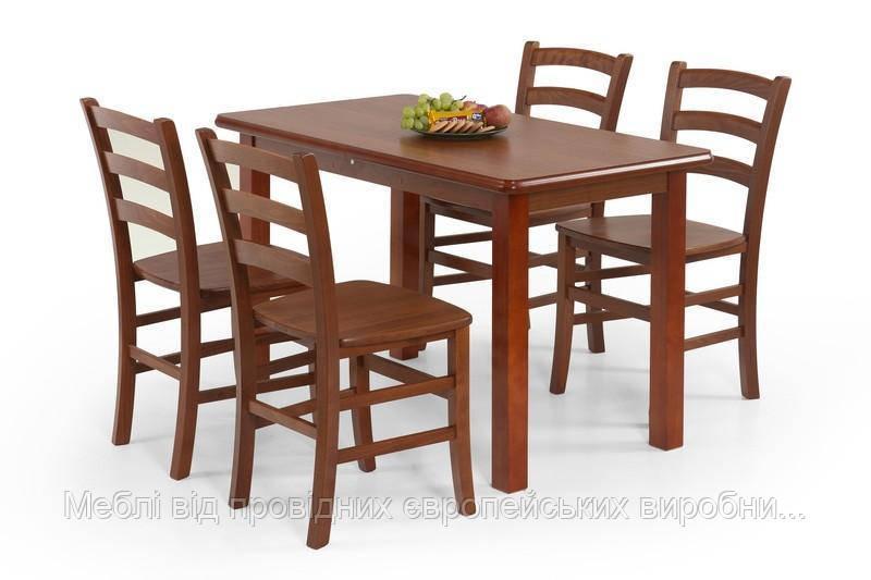Стол деревянный DINNER 115 Halmar (античная черешня)