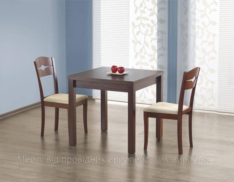 Стол деревянный GRACJAN Halmar (темный орех)