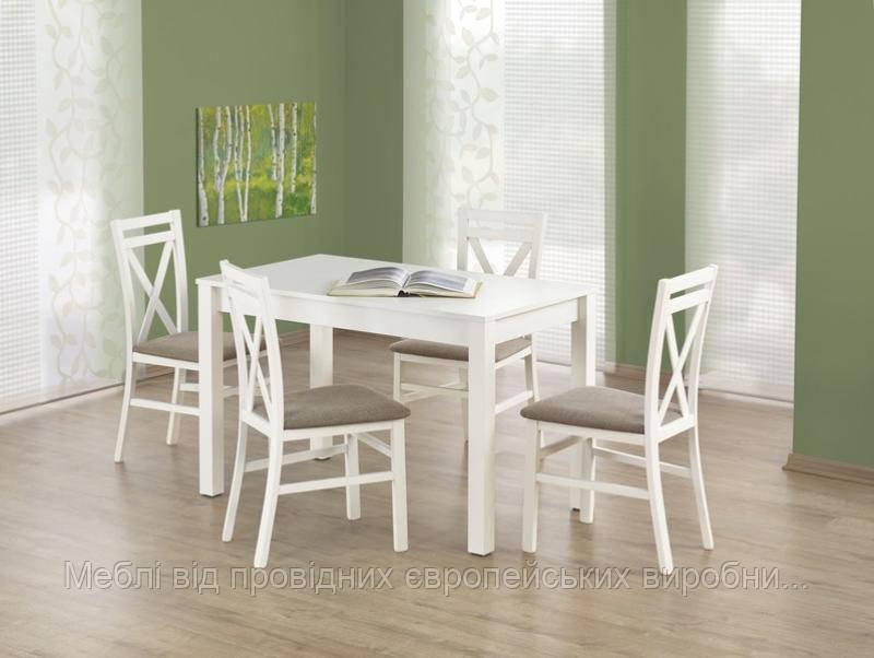 Стол деревянный KSAWERY Halmar (белый)