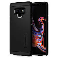 Чехол Spigen для Samsung Galaxy Note 9 Tough Armor, Black (599CS24575), фото 1