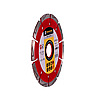 Круг алмазный отрезной Baumesser 1A1RSS/C3-H 125x2,2/1,4x8x22,23-10 Ziegelstein PRO, фото 2