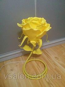 Прикроватный светильник роза из изолона